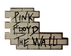 """vintage 1982 PINK FLOYD The Wall badge lapel enamel pin button official promo movie by VintageTrafficUSA  20.00 USD  A Rare vintage Pink Floyd pin dated from 1982! 1982 PINK FLOYD MUSIC LTD on back. Excellent condition! Measures: approx 1"""" 30 years old hard to find vintage high-quality cloisonne lapel/pin. Beautiful die struck metal pin with colored glass enamel filling. -------------------------------------------- SECOND ITEM SHIPS FREE IN USA!!! LOW SHIPPING OUTSIDE USA!! VISIT MY STORE…"""