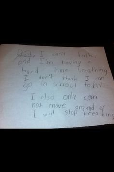 21 Kids Who Sold Out Their Parents This made me laugh out loud and think of Harry x Funny Note, The Funny, Just For Laughs, Just For You, Kids Notes, Things Kids Say, School Today, 9 Year Olds, Kids Writing