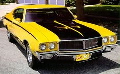 972 Buick GSX: The most enigmatic muscle car? - New York Muscle Car and Classic Car Bugatti, Lamborghini, Ferrari, Old Muscle Cars, American Muscle Cars, Buick Gsx, Automobile, Buick Cars, Roadster
