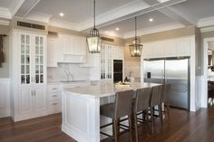 Sometimes dreams are very personal, and not everyone's cup of tea, but when you can transform yours into something magnificent that can be appreciated by all, you know you have a flair for design. Eclectic Design, Eclectic Decor, French Provincial Home, Hallway Flooring, French Style Homes, Architrave, Custom Built Homes, Interior Decorating, New Homes