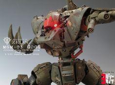 "Custom Build: MG Gogg [Jungle Zone Specification] ""Cyclops"" Gundam Toys, Gundam Wallpapers, Gundam Custom Build, Lego, Gunpla Custom, Cyclops, Real Style, Custom Decals, Mobile Suit"