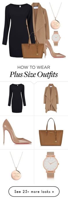 """Untitled #1188"" by wikiheart on Polyvore featuring Kate Spade, Harris Wharf London, Michael Kors, Christian Louboutin and Larsson & Jennings"
