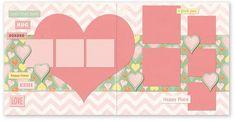 PAPER LOFT --- TS512 Love that Face Page Kit