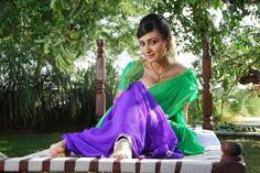 Neelam Upadhyaya Latest Hot Photos in Green Saree - MIRCHIWOODS