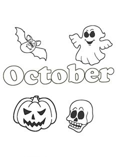 Easy to color. Welcome october and halloween coloring page. It's free download and printable. Collection of cartoon coloring pages for teenage printable that you can download and print. #ColoringPage, #Halloween, #October #ColoringPage, #Halloween, #October Halloween Coloring Pages, Cartoon Coloring Pages, October, Snoopy, Printables, Easy, Free, Fictional Characters, Collection