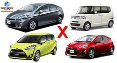 """Confira o top 10 dos carros mais vendidos no Japão em setembro, que teve """"kei-jidosha"""" ocupando 5 posições."""