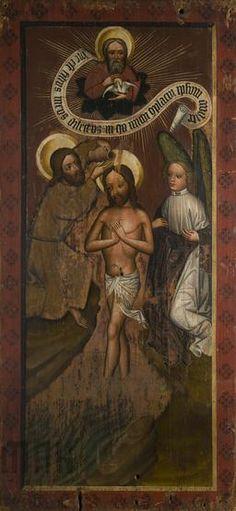 Chrzest Chrystusa z kościoła w Chełmcu, 1440