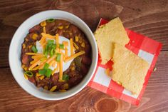 Vegetarian Chorizo + Three Bean Chili Recipe