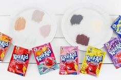 These Kool-Aid Marshmallow Pops are the easiest summer snack idea! Summer Snacks, Easy Snacks, Kool Aid Packets, Coconut Peanut Butter, Sugar Crystals, Marshmallow Pops, Lollipop Sticks, Shake It Off, Pop Tarts