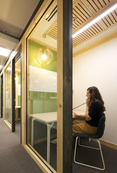Private enclave, Hospira Hospiras New Open Plan Melbourne Office
