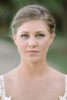 Fresh faced make up.   Photography: Sean Money + Elizabeth Fay - seanmoney-elizabethfay.com  Read More: http://www.stylemepretty.com/2014/10/15/classic-southern-wedding-at-edisto-island/