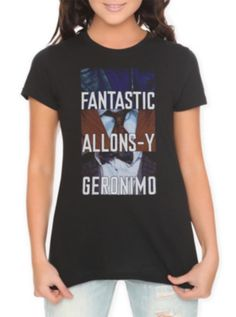Doctor Who Tagline Girls T-Shirt -- omg I am so ordering this for reals!!