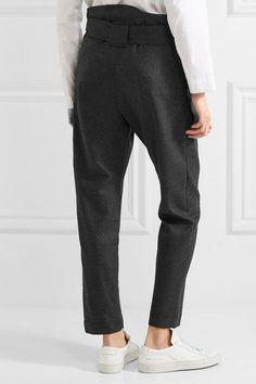 Vivienne Westwood Anglomania - Kung Fu Tapered Wool Pants - Dark gray - IT42