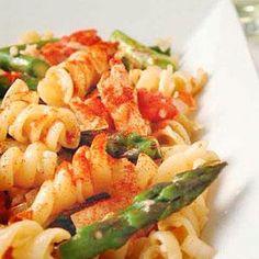 Chicken and Asparagus Pasta Toss Recipe | MyRecipes.com