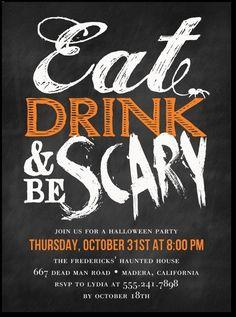Fun Halloween Party Invitation