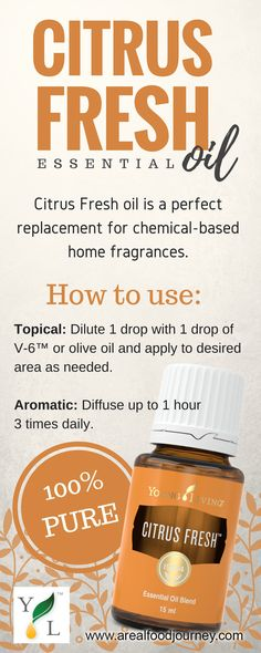 citrus fresh essential oil diffuse this essential oil to bring positivity into your room