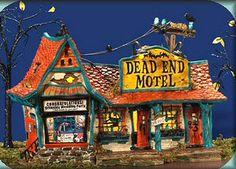 Dead End Motel Halloween Village