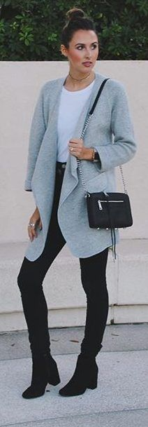 15 warm and cozy winter outfits #winter #fashion