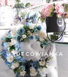 Hanukkah, Floral Wreath, Wreaths, Facebook, Flowers, Home Decor, Floral Crown, Decoration Home, Door Wreaths