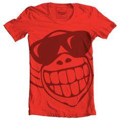 Monkey Tee #bandarwalla #monkey #smile