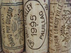 Corks from Bordeaux