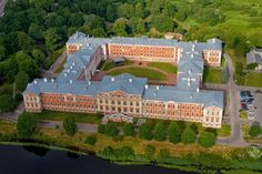 Jelgava Palace (Jelgava, Latvia) is the largest Baroque style palace in the Baltic states. It was built in the 18th century based on the design of Bartolomeo Rastrelli.