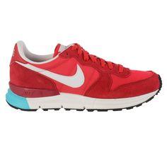 Mooie Nike Lunar Internationalist Sneakers Heren (rood – wit) Sneakers van het merk Nike voor Heren . Uitgevoerd in rood - wit gemaakt van Textiel|suede|leer|rubber|leer|rubber.