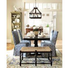 Upholstered Parsons Chair from Ballard Designs | ballarddesigns.com