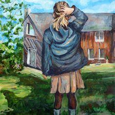 tableau : AVRIL par CAROLE LEPRINCE - Portraits / Nus,Scènes de vie - C50410AV161