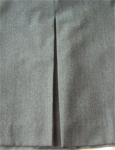 tuto couture : différents types de plis !!! (creux, bicolores, plat, etc)