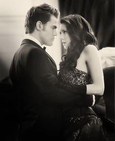 #TVD The Vampire Diaries  Stefan & Elena