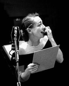 Joan Crawford on Lux Radio Theater