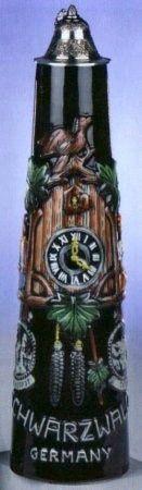 2 Liter Cuckoo Clock German Jug
