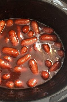 """Slow Cooker Cocktail Smokies 