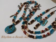 Rhythm-n-Beads® by Deborahlynn by RhythmnBeads Horse Necklace, Beaded Necklace, Beaded Bracelets, Necklaces, Horsehair, Happy Trails, Tack, Saddle Bags, Feathers