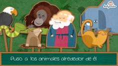 The Animals in Spanish Canciones infantiles, el arca de Noe