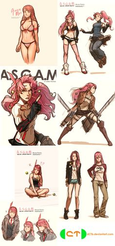 This is so awesome!!! ASGAM Concept Dump 2 by dCTb.deviantart.com on @deviantART