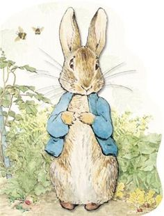 Cute illustrations - Peter Rabbit by Beatrix Potter. Have collected many Beatrix Potter items over the years, But her prints/books are my most cherished. Peter Rabbit Party, Peter Rabbit Nursery, Peter Rabbit Birthday, Art And Illustration, Rabbit Illustration, Coelho Peter, Beatrix Potter Illustrations, Book Illustrations, Lapin Art