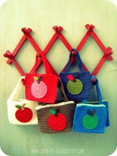 Annemaries Haakblog: Apple Bags