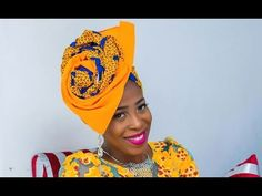 HOW TO TIE THE LATEST V FAN GELE ( part 3) beginner friendly - YouTube