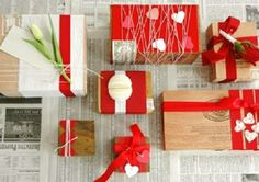 Valentines Day gift wrap ideas