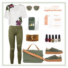 """""""Untitled #150"""" by rita-tahchi on Polyvore featuring Current/Elliott, 3.1 Phillip Lim, No Name, Oliver Peoples, Zanellato and Chan Luu"""