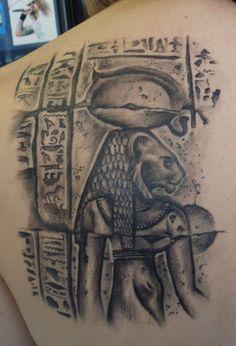 Paradise Tattoo Gathering  Tattoos Myth Egyptian Carving