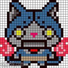 165 Best Yo Kai Watch Perler Beads Images Perler Beads