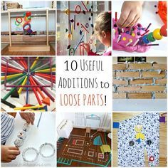 10 USEFUL ADDITIONS TO LOOSE PARTS!
