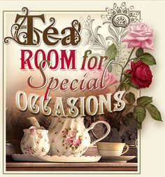 Tea Room For Special