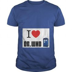 Awesome Tee I Love Dr. Who -  David Tennant and Billie Piper T-Shirts