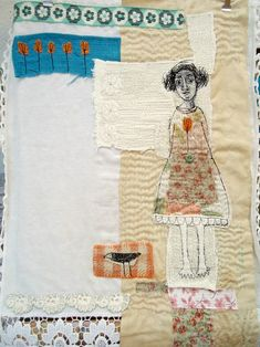 modflowers: textile art by mrs bertimus