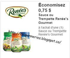 Coupons et Circulaires: .75¢ sur RENEE'S