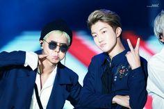 Mino and Seunghun